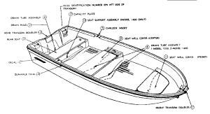SEARS SUPER GAMEFISHER BOAT Parts | Model 617601012