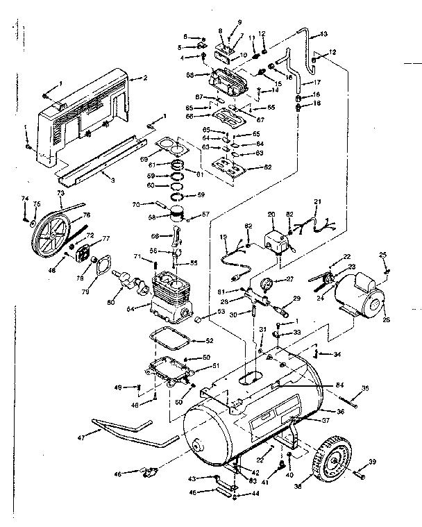 Craftsman 919177520 Air Compressor