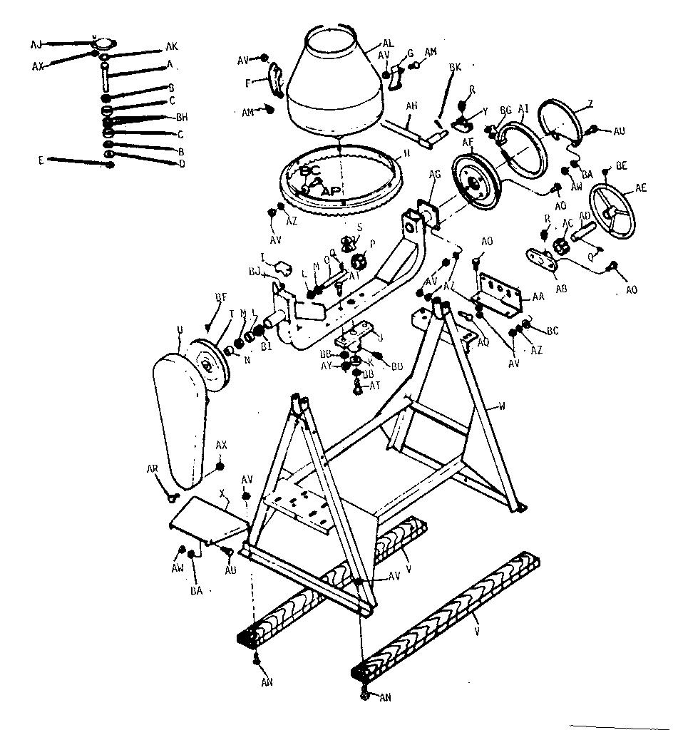Lightburn Concrete Mixer Spare Parts