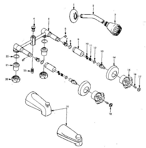 sears 609208130 plumbing parts sears