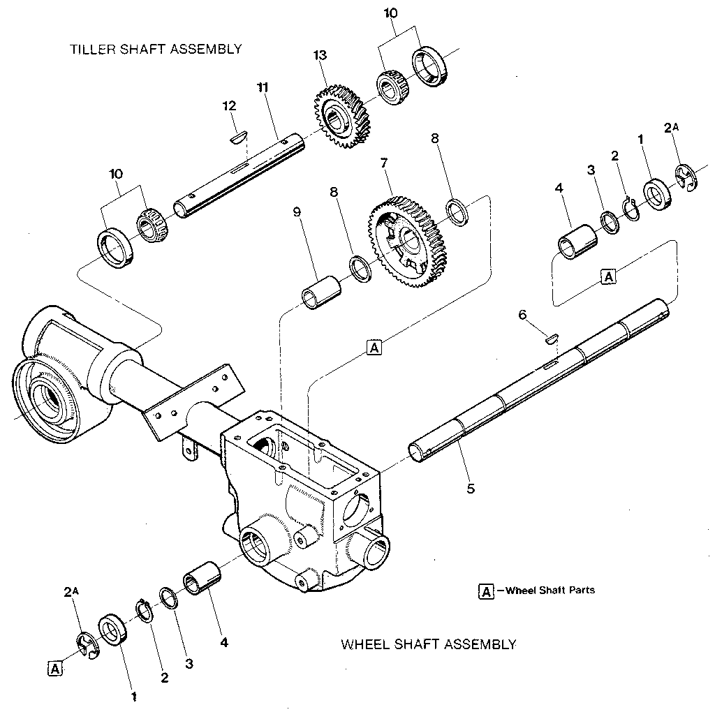 Merry Tiller Parts Manual