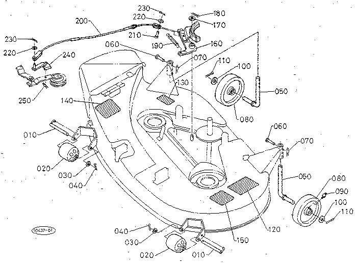 Kubota T1560 Parts List