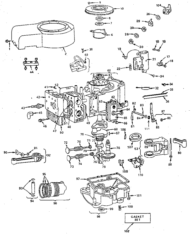Parts Manual For Briggs And Stratton Engines