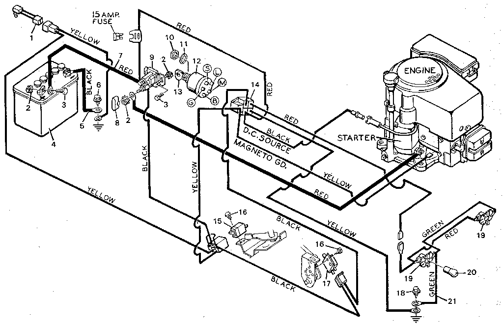 Sears Garden Tractor Wiring Diagram Best Ideas About Craftsman