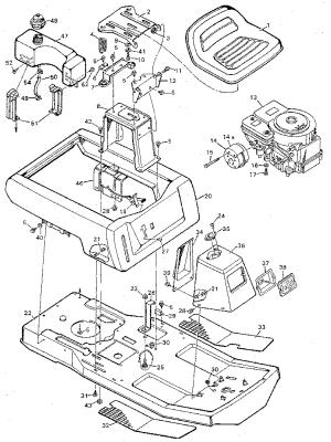 MURRAY Murray Riding Mower Parts | Model 930502 | Sears
