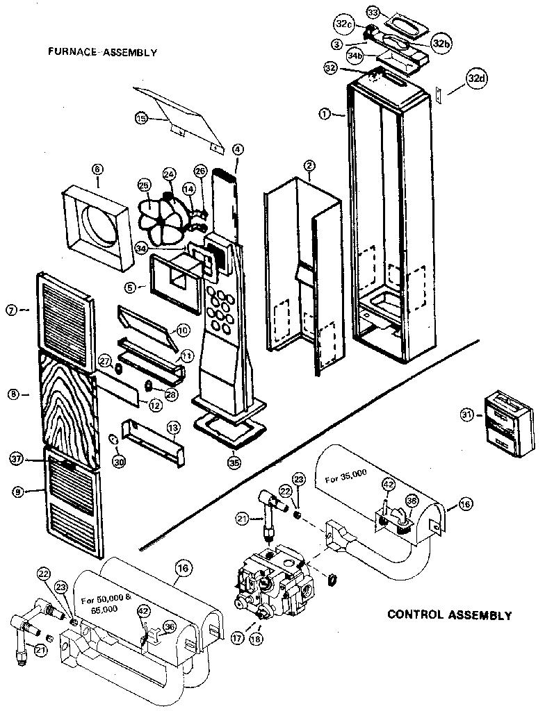 Wall Heater Repair Parts