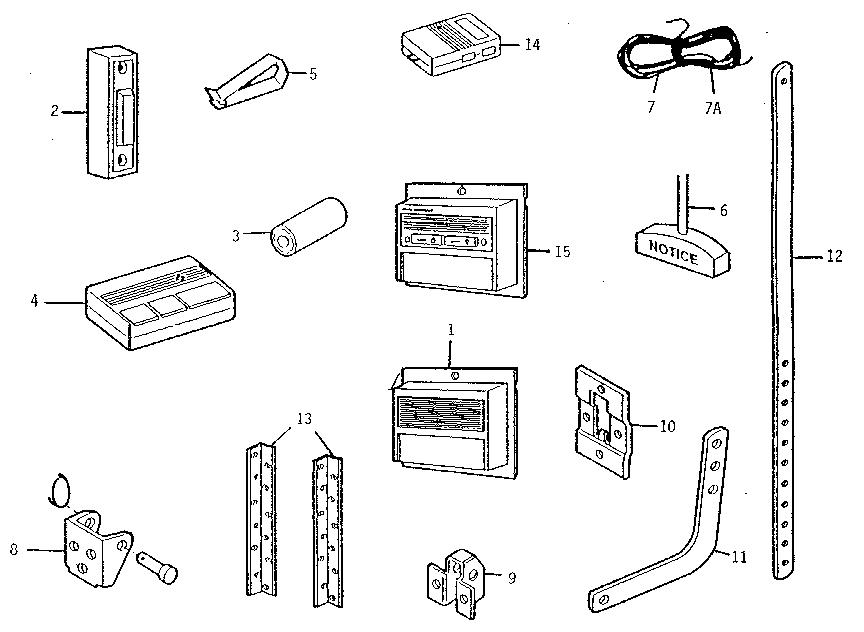 Craftsman 1 2 Hp Garage Door Opener 41a4315 7d Manual