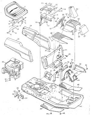 CRAFTSMAN 10 HP MOWER Parts | Model 502254190 | Sears