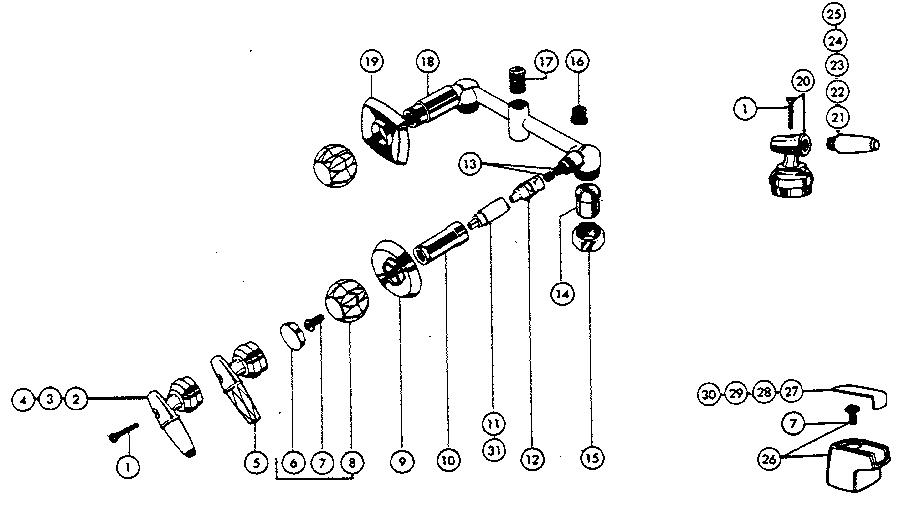 peerless 9730 plumbing parts sears