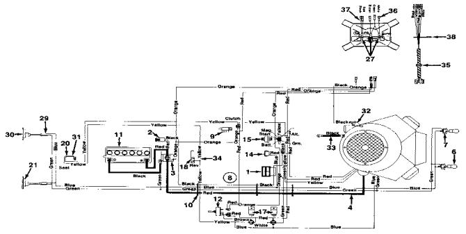 mtd riding mower wiring diagram  dimarzio bass humbucker