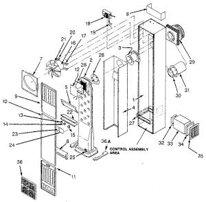 WILLIAMS WALL FURNACE Parts | Model 550dvinat | Sears