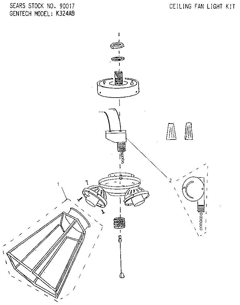 Ceiling Fan Light Replacement Parts Www Energywarden Net