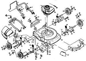 CRAFTSMAN LAWN MOWER Parts | Model 917380542 | Sears