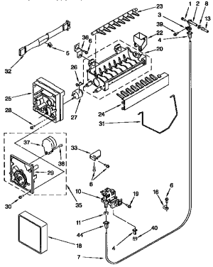 KENMORE ICEMAKER Parts   Model 4317943   Sears PartsDirect