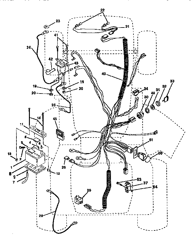 Sears Craftsman Drive Belt Diagram