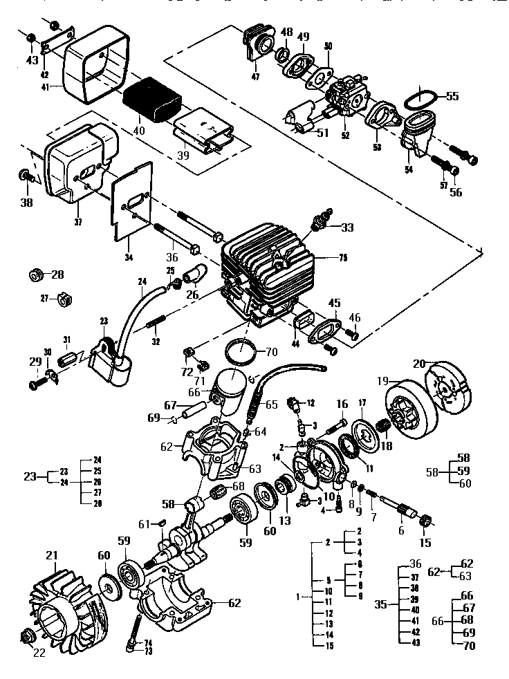 Stihl 066 Parts Diagram