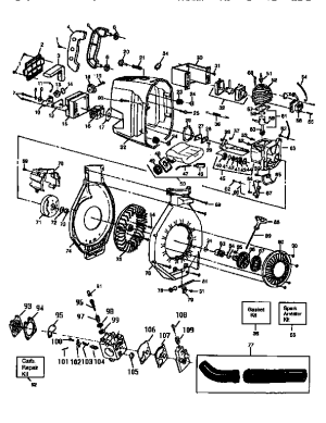 CRAFTSMAN BLOWER Parts | Model 358798940 | Sears PartsDirect