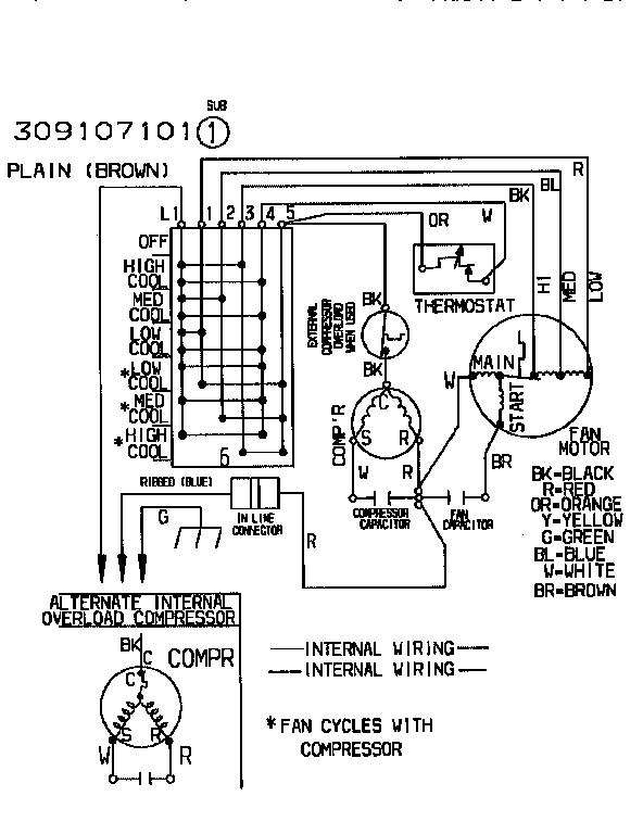wiring diagram for frigidaire air conditioner with Freezer Thermostat Wiring Diagram on Goldstar Air Conditioner Wiring Diagrams together with Kitchenaid Dryer Wiring Diagram as well Washing Machine Wiring Diagram Pdf also Electric Furnace Wiring Diagrams E2eb 015ha additionally Freezer Thermostat Wiring Diagram.