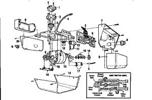 CRAFTSMAN 12 HP GARAGE DOOR OPENER Parts | Model