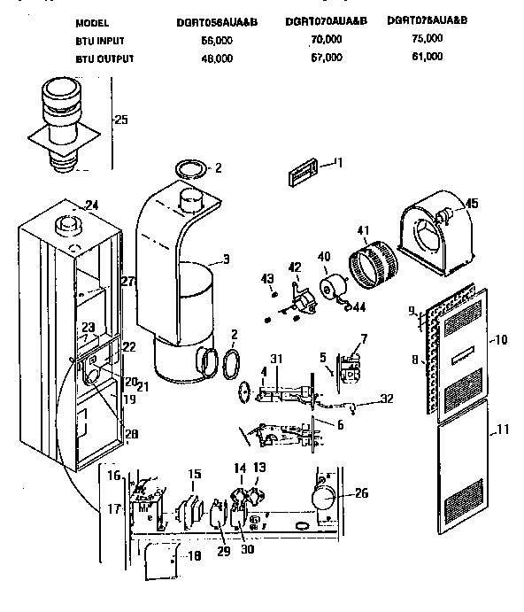 coleman presidential furnace wiring diagram