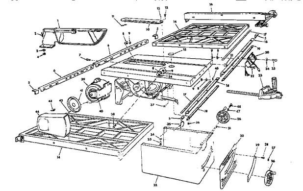 Craftsman Model 113 Table Saw Motor Brokeasshome Com