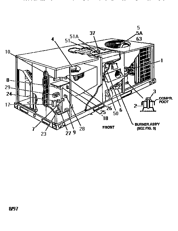 Rooftop Unit Diagram & The Drawing Below Shows A Typical