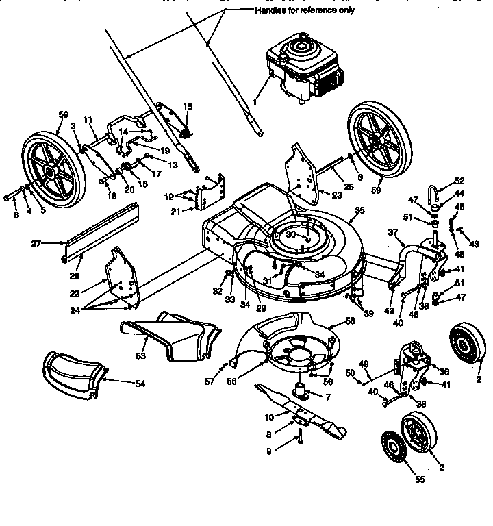 Craftsman Lawn Tractor Parts Breakdown
