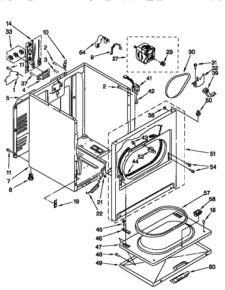 ... Kenmore Electric Dryer Wiring Diagram Photo Album - Wiring diagram on parts for kenmore electric dryer ...