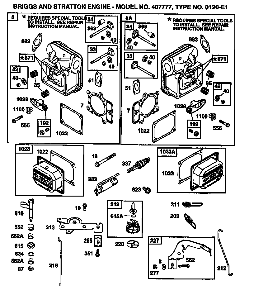 Tecumseh 8 Hp Horizontal Shaft Engine