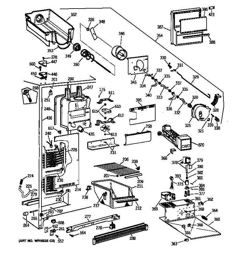 General Motors Fridge Parts