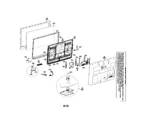 PLASMA TV Diagram & Parts List for Model 42pq10ubausnljr