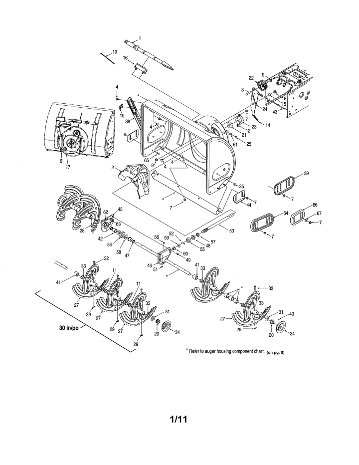 Model 24710568 | CRAFTSMAN SNOW THROWER Parts