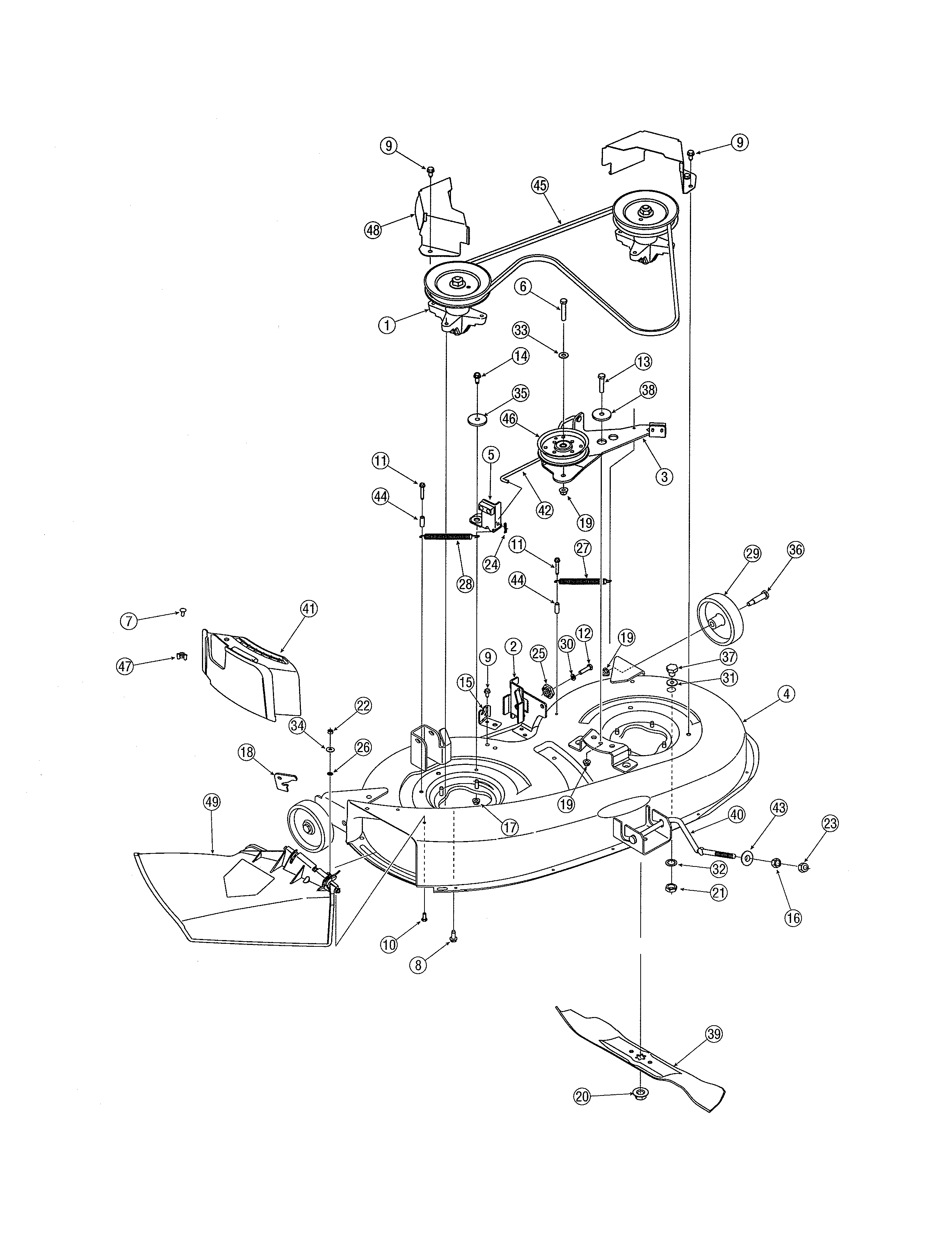 Scotts Lawn Mower Model 2554 Wiring Diagram Riding Mower