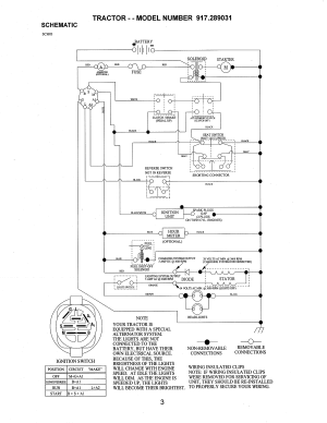 Craftsman Lawn Mower 917255460 Wiring Diagram  Wiring