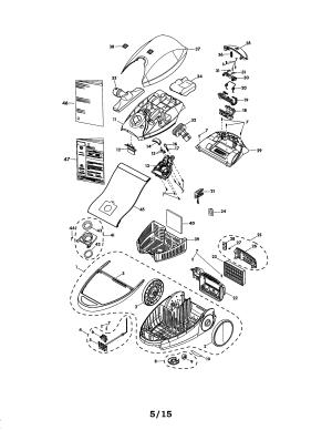 KENMORE VACUUM Parts | Model 11681714510 | Sears PartsDirect