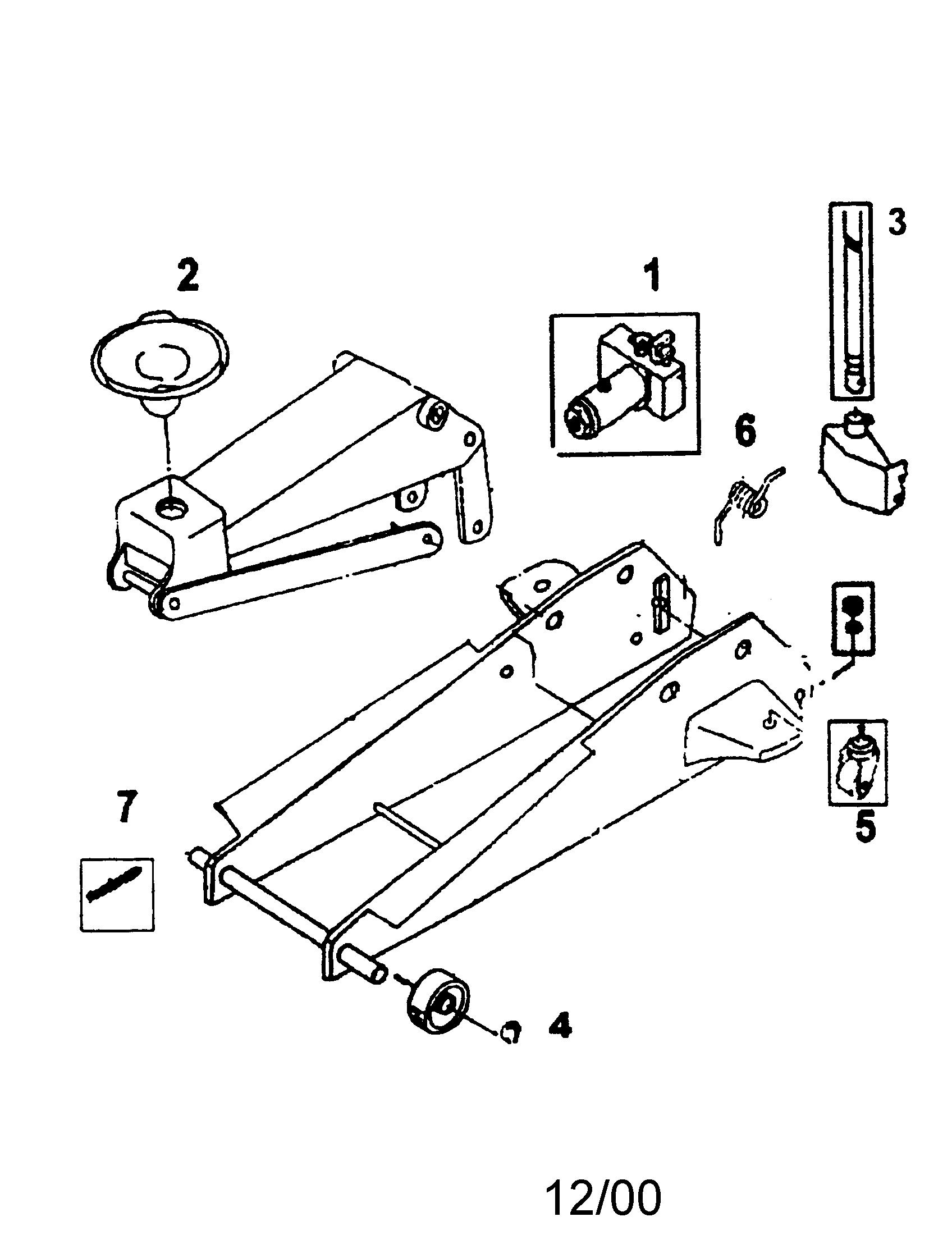 Hydraulic Floor Jack Repair Manual