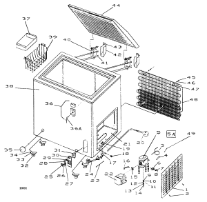HAIER FREEZER Parts | Model BD120G | Sears PartsDirect