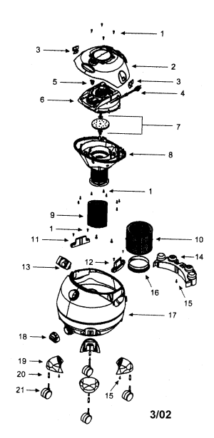 CRAFTSMAN WETDRY VACUUM Parts | Model 338179220 | Sears