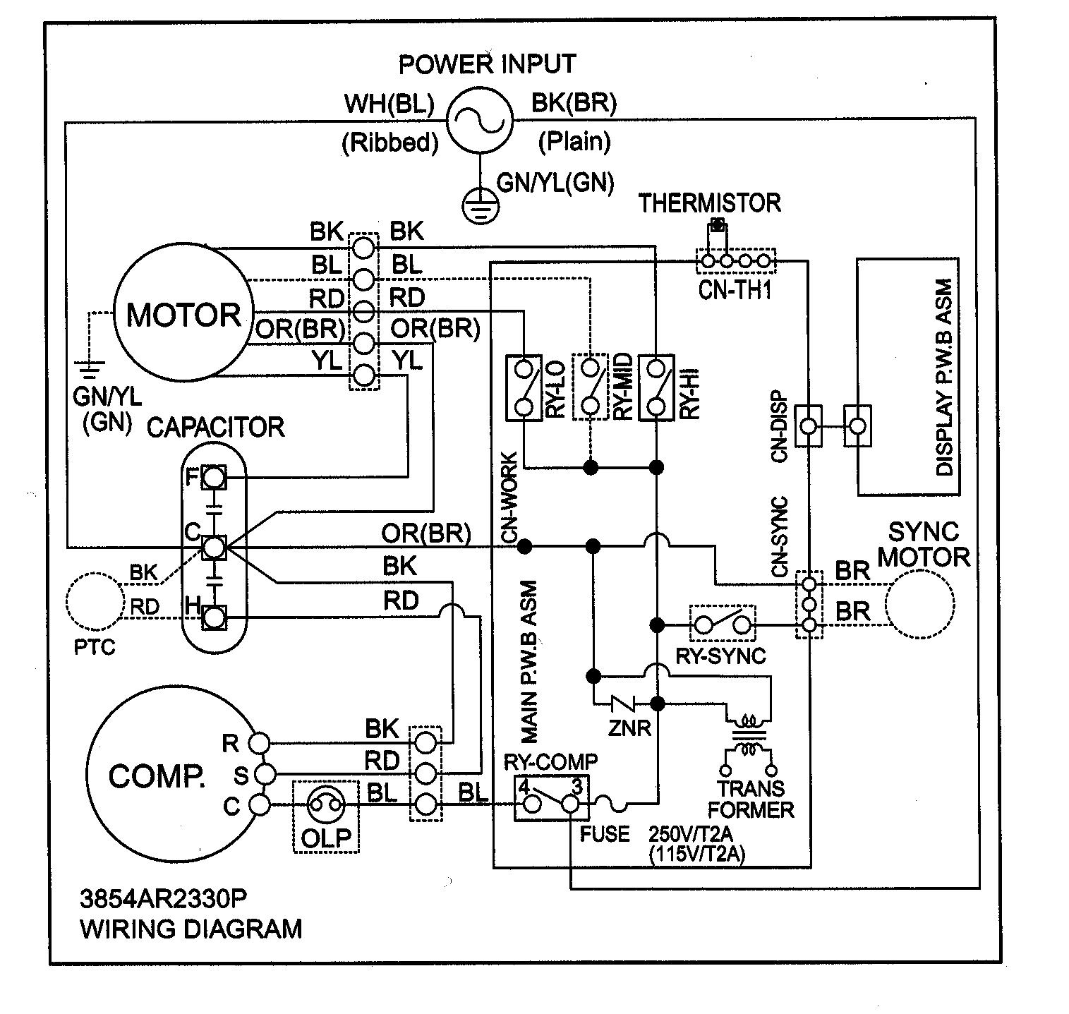 american standard thermostat wiring diagram 650