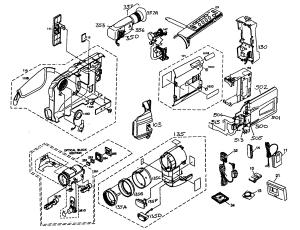 JVC CAMCORDER Parts | Model GRSXM740U | Sears PartsDirect