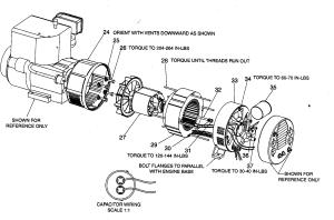 DEVILBISS Generator Engine Parts | Model GBVE80001