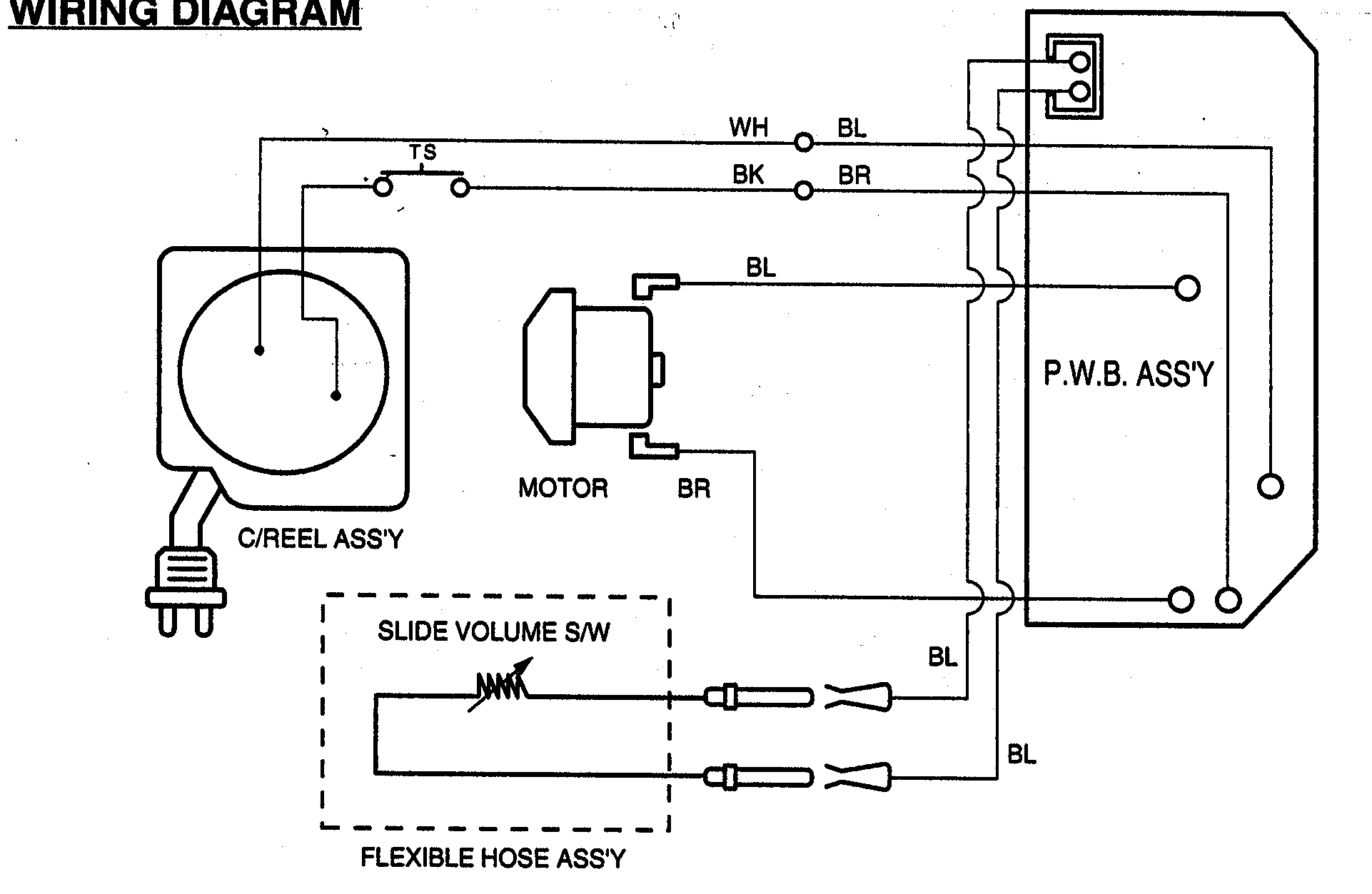 Sears Kenmore Progressive Vacuum Parts Wiring Diagram
