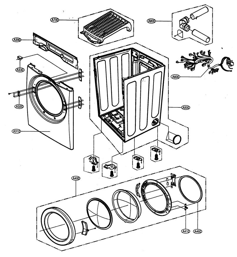 Lg Tromm Dryer Parts Manual