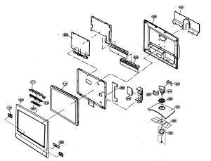 Lcd Tv Part Diagram  master electronics repair samsung tft lcd tv smps schematic