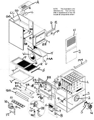 ICP FURNACE Parts | Model ntc6125kjg1 | Sears PartsDirect
