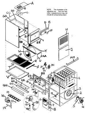 ICP FURNACE Parts | Model ntp6075gfg1 | Sears PartsDirect