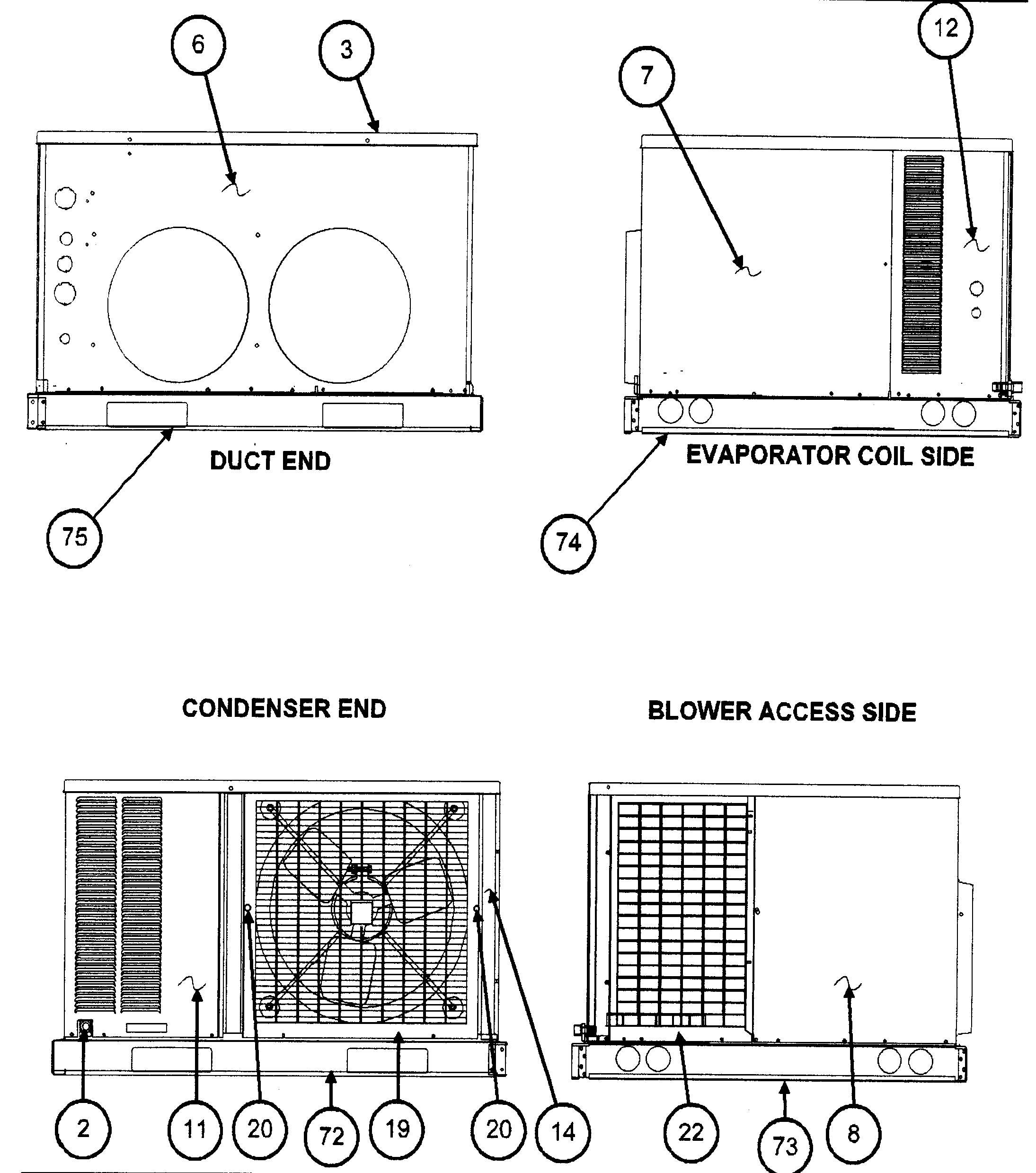 kenmore window air conditioner parts diagrams