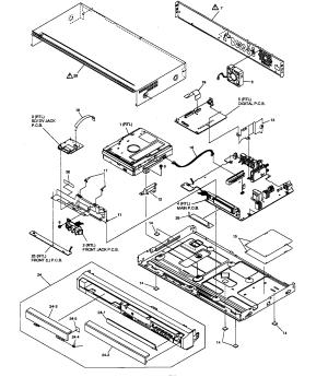 PANASONIC DVD RECORDER Parts | Model dmrez27p | Sears