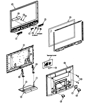 PANASONIC PLASMA TELEVISION Parts | Model TH42PX80U | Sears PartsDirect