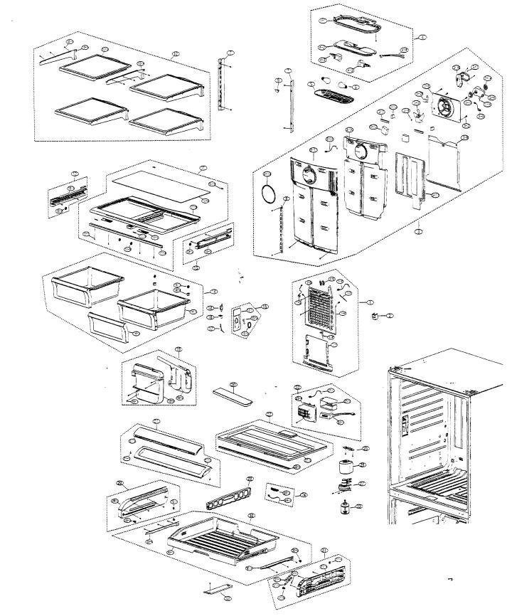 Samsung Refrigerator Repair Parts List Newmotorjdi Co